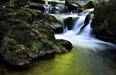 Jessup River Waterfall Photographic Art Poster