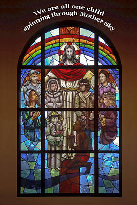 Jesus And Children Poster