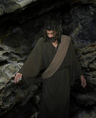 Jesus Christ- Lazarus Come Forth Poster