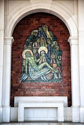 Jesus Depositado No Tumulo  Poster