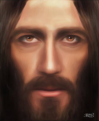 My Jesus Poster by Mark Spears