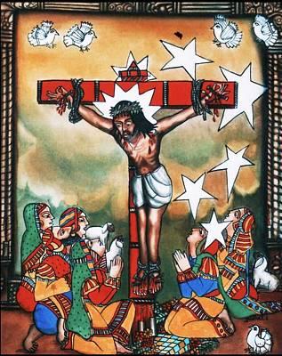 Jesus-on-cross Poster