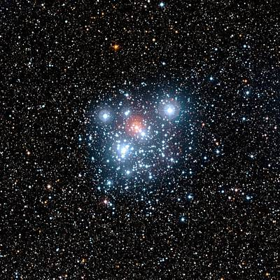 Jewel Box Star Cluster Poster by European Southern Observatory
