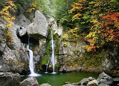 Jewel Of The Berkshires - Bash Bish Falls  Poster by Thomas Schoeller