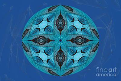 Jeweled Vajra Mandala Yantra Poster