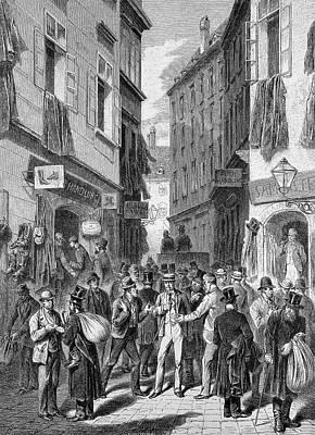 Jewish Street Poster by Bildagentur-online/tschanz