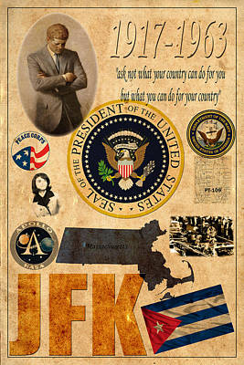 JFK Poster by Andrew Fare