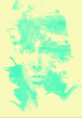 Poster featuring the digital art Jim Morrison  by Brian Reaves