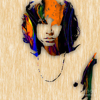 Jim Morrison The Doors Art Poster by Marvin Blaine
