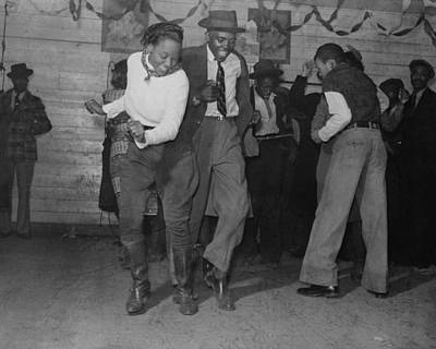 Jitterbugging In Juke Joint Poster by Historic Photos