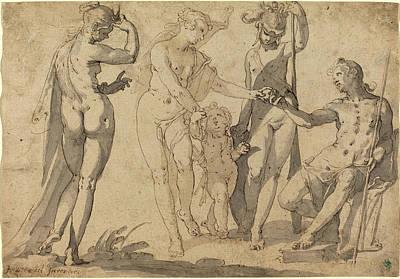 Joachim Anthonisz Wtewael, Dutch C. 1566-1638 Poster