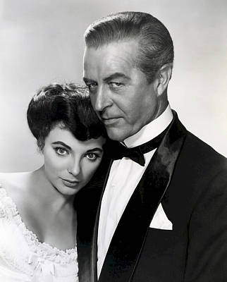 Joan Collins - Ray Milland Poster by Daniel Hagerman