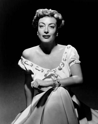 Joan Crawford, Ca. Early 1950s Poster