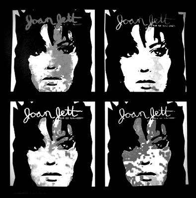 Joan Jett Poster by Cat Jackson