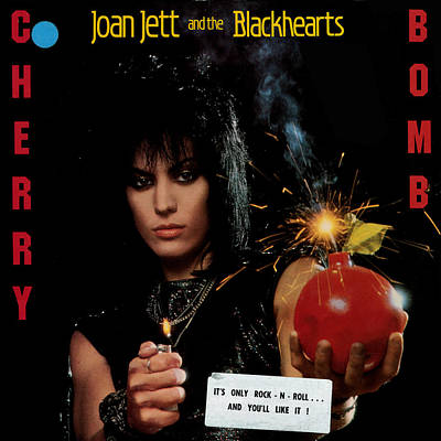 Joan Jett - Cherry Bomb 1984 Poster by Epic Rights