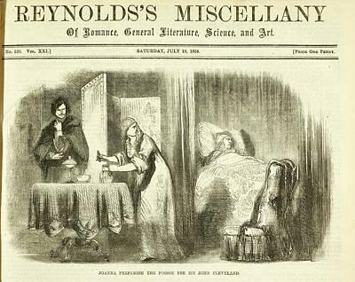 Joanna Preparing The Poison For Sir John Poster