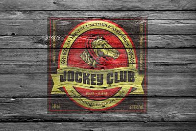 Jockey Club Poster by Joe Hamilton