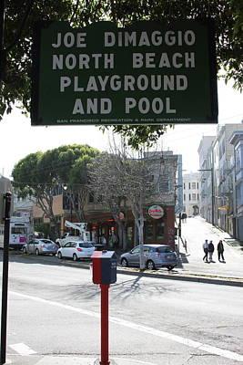 Joe Dimaggio Park Poster