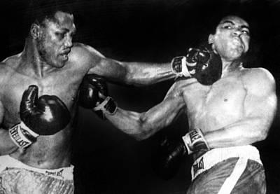 Joe Frazier Vs. Muhammad Ali Poster by Everett
