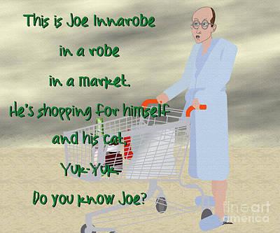 Joe Inna Market Poster by Pharris Art
