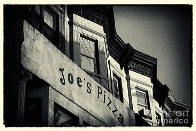 Joe's Pizza Park Slope New York City Poster by Sabine Jacobs