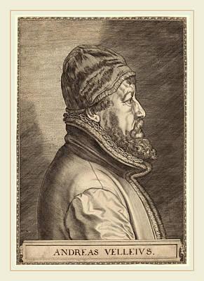 Johan Wierix Flemish Poster