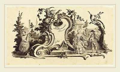 Johann Esaias Nilson German, 1721-1788 Poster