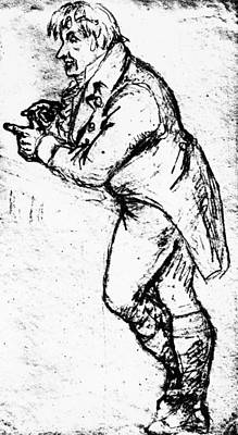 Johann Gottlieb Fichte (1762-1814) Poster