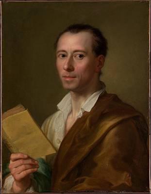 Johann Joachim Winckelmann 1717-1768 Poster