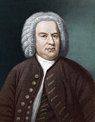 Johann Sebastian Bach (1685-1750) Poster by Science Photo Library