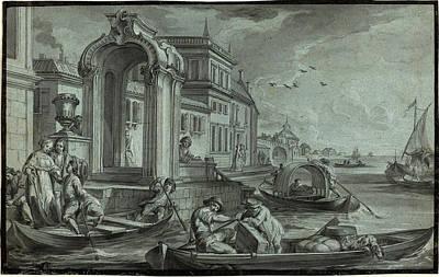 Johann Wolfgang Baumgartner, German 1709-1761 Poster