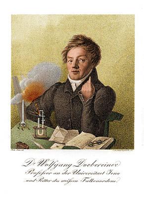 Johann Wolfgang Dobereiner, German Poster