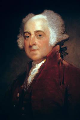John Adams Poster by Daniel Hagerman