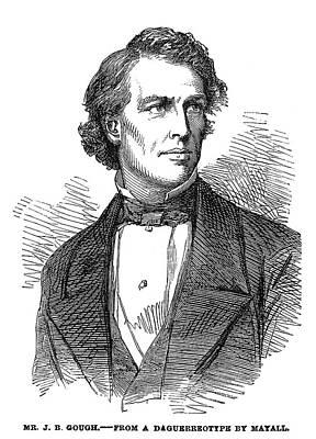 John Bartholomew Gough (1817-1886) Poster by Granger