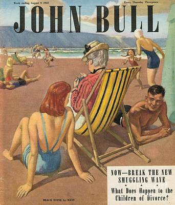John Bull 1947 1940s Uk Holidays Poster by The Advertising Archives