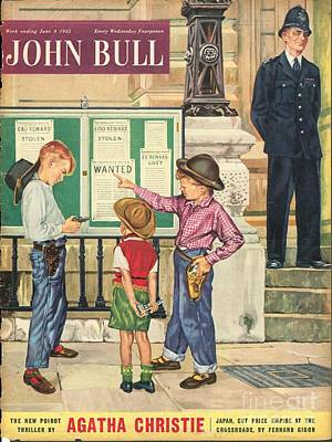 John Bull 1950s Uk  Police Station Poster by The Advertising Archives