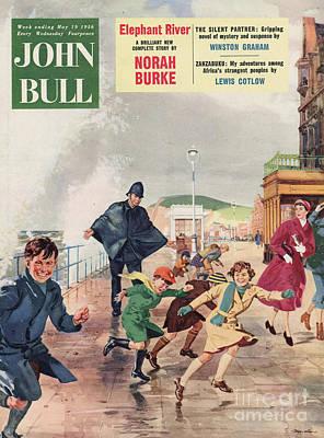John Bull 1956 1950s Uk Police Poster by The Advertising Archives