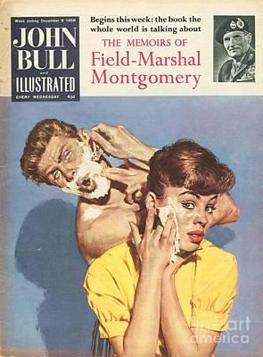 John Bull 1958 1950s Uk Bathrooms Poster by The Advertising Archives