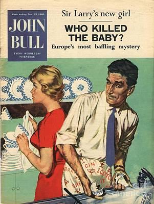 John Bull 1960s Uk Disasters Breaking Poster