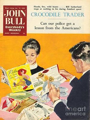 John Bull 1960s Uk Holidays Brochures Poster
