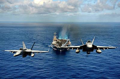 John C. Stennis Carrier Strike Group Poster