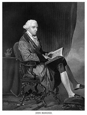 John Hancock Poster by Historic Image