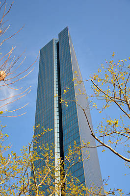 Poster featuring the photograph John Hancock Tower  by Amanda Vouglas