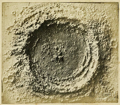 John Herschels Moon Crater C.1850s Poster by Getty Research Institute