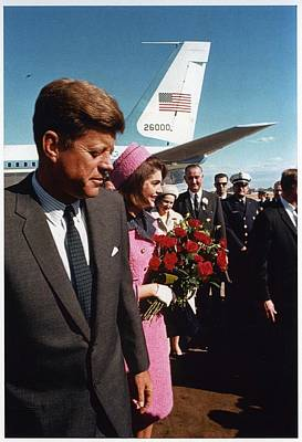 John F. Kennedy In Dallas Poster by Retro Images Archive
