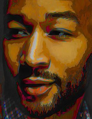 John Legend Poster by  Fli Art