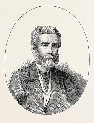 John Lothrop Motley,1814-1877, Was An American Historian Poster by English School