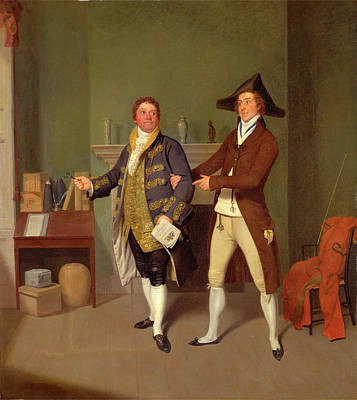 John Quick And John Fawcett In Thomas Moretons The Way Poster by Litz Collection