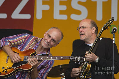 John Scofield And Larry Carlton Poster