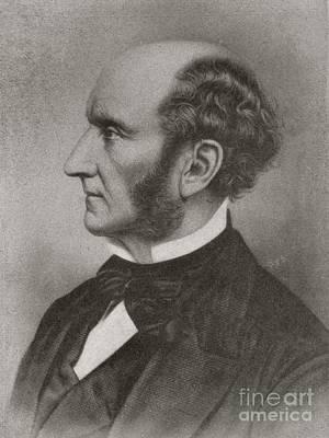 John Stuart Mill, British Reformer Poster by British Library